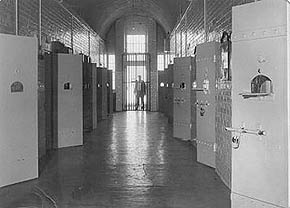 The cells at Hay Girls Institution